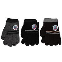 Перчатки для мальчиков 3-5 лет 5206 оптом в Одессе