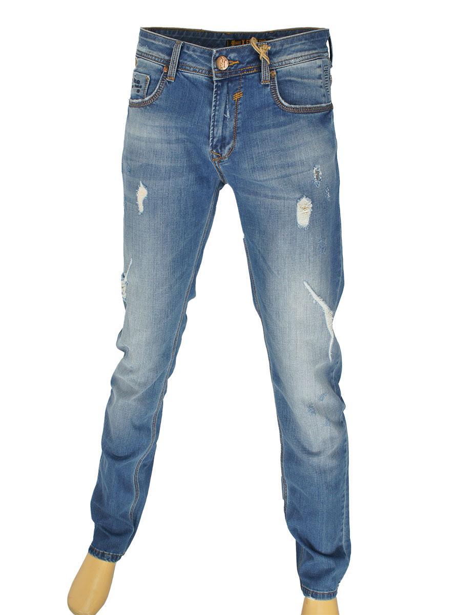 Стильные мужские джинсы  X-Foot 261-2220