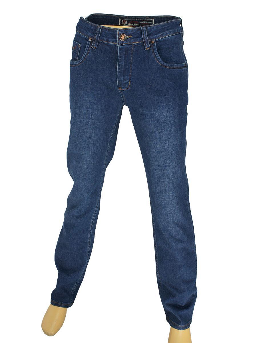Стильные мужские джинсы Mirac M:2576-P P.N.138 темно-синего цвета