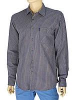 Рубашка мужская хлопковая Negredo 0310 indigo