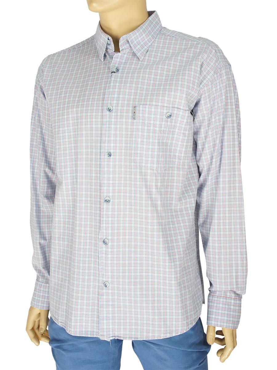Мужская рубашка Razonni 0310 Н indigo