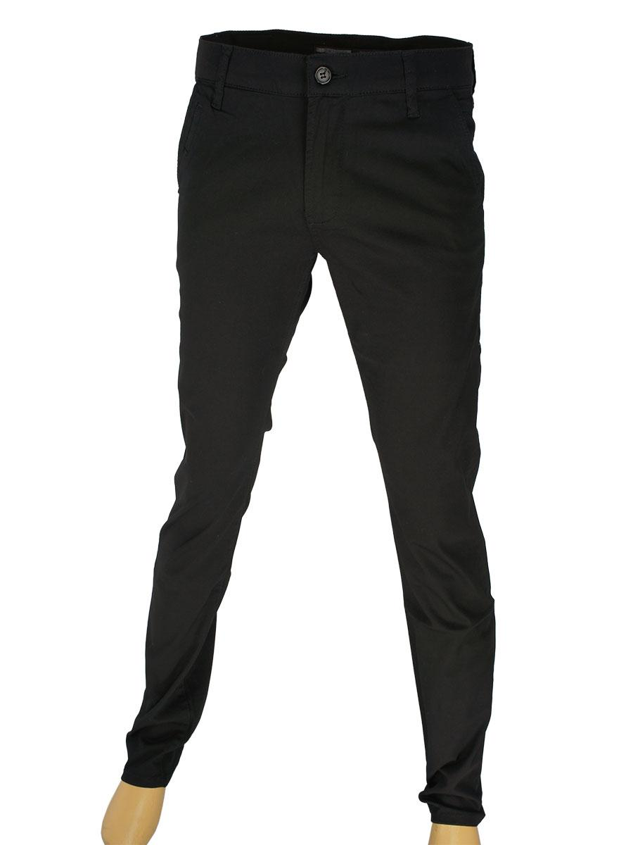 Классические мужские джинсы Cen-cor CNC-1252-C-Black в черном цвете