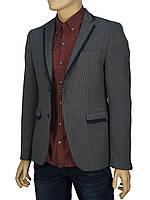Серый мужской пиджак Climber 811-0050.S527