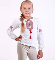 Блуза вышиванка для девочки (6-10 лет)