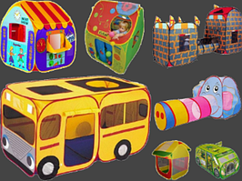 Детские игровые палатки для каждого ребенка