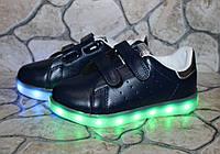 Кроссовки подростковые с подзарядкой от USB 35 размер