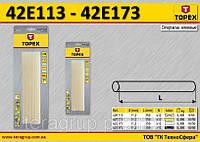 Стержни клеевые прозрачные, Ø-11,2мм., n-12, 0.3кг.,  TOPEX  42E113