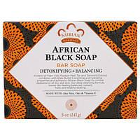 Чёрное африканское мыло, лечебное натуральное антисептическое мыло от прыщей, угрей и разных кожных высыпаний