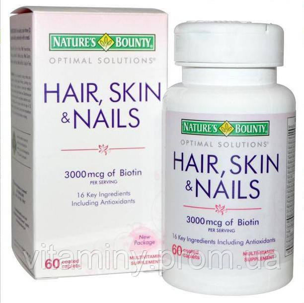 Витамины кожа волосы ногти сша