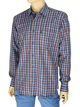 Чоловіча бавовняна сорочка Negredo 3000#110 indigo