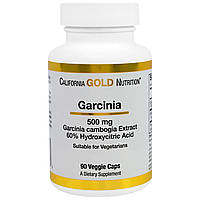 Гарциния Камбоджийская (500 мг, 90 капсул) California Gold Nutrition