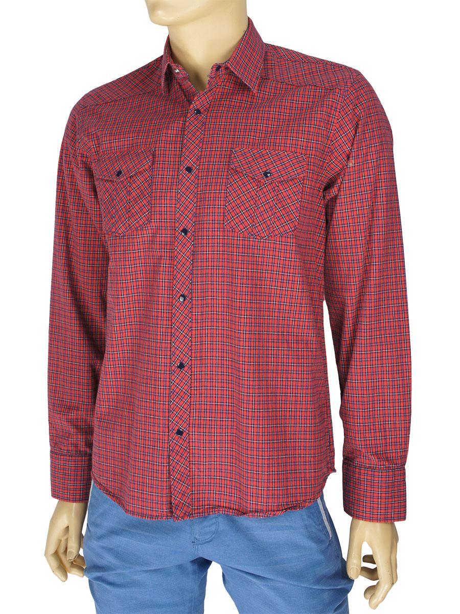 Чоловіча сорочка Desibel 047 C-26 H 100% бавовна