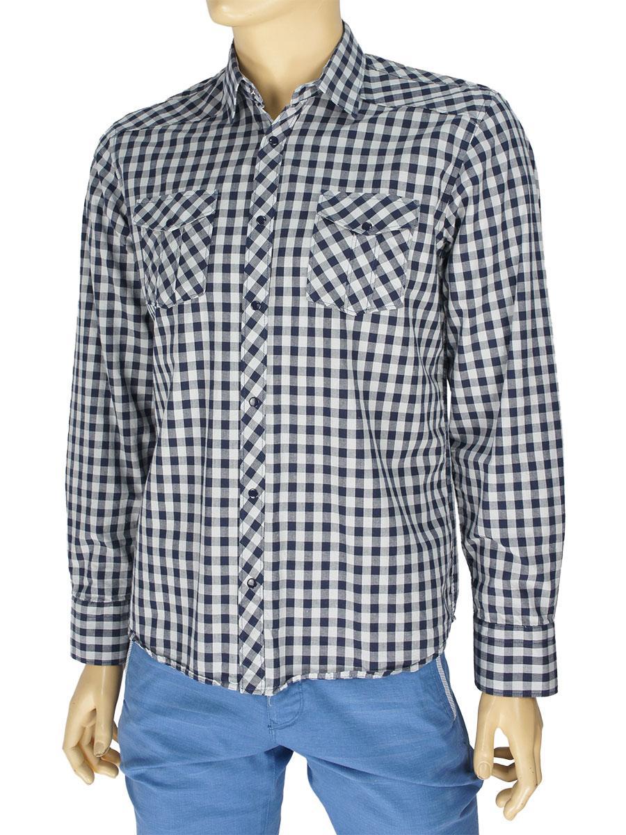 Чоловіча сорочка Desibel 047 C-24 H 100% бавовна