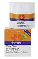 Увлажняющий крем с противовоспалительным комплексом Very Clear, Derma E