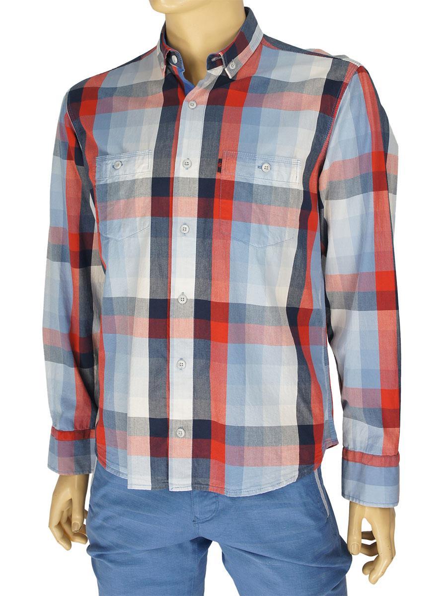 Чоловіча сорочка Negredo Art.45 комбінована