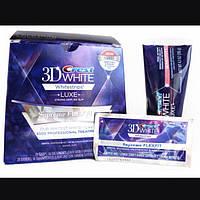 Отбеливающие полоски для зубов, 3D White Crest Supreme FlexFit