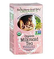 Чай для лактации, 16 пакетиков, Earth Mama Angel baby