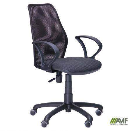 Кресло Oxi/АМФ-4 сиденье Поинт-02/спинка Сетка черная, фото 2