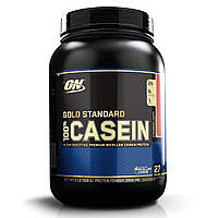 Казеиновый протеин (Casein) клубника, Optimum Nutrition, 909 г