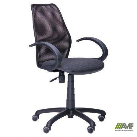 Кресло Oxi/АМФ-5 сиденье Поинт-02/спинка Сетка черная, фото 2