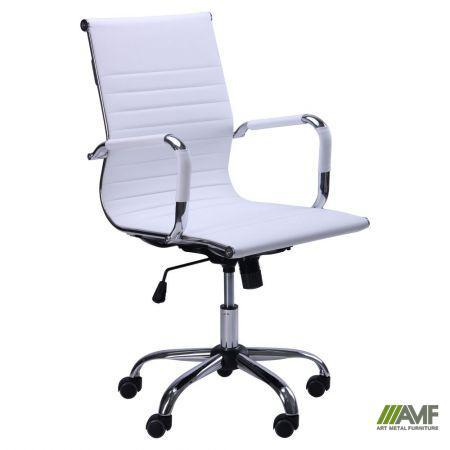 Кресло Slim LB (XH-632B) белый