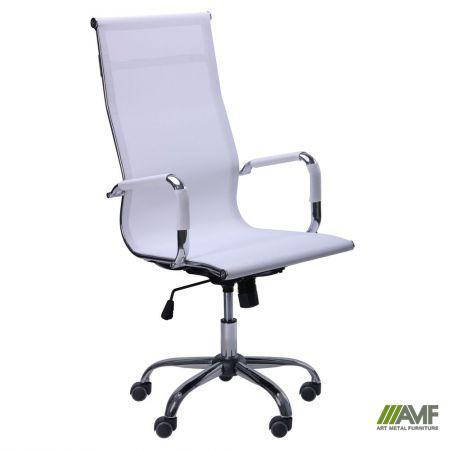 Кресло Slim Net HB (XH-633) белый, фото 2
