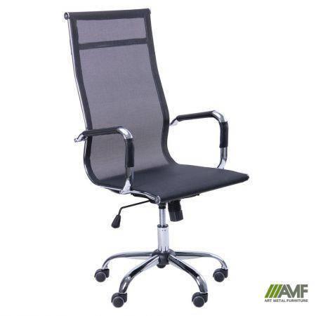 Кресло Slim Net HB (XH-633) черный, фото 2