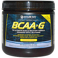BCAA + L-глутамин, BCAA + G, MRM, 180 г