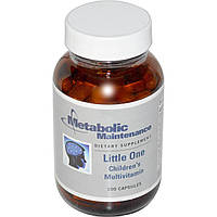 Мультивитамины для детей, Little One, Children's Multivitamin, Metabolic Maintenance, 100 кап.