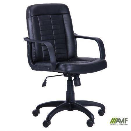 Кресло Нота Пластик Скаден черный, фото 2