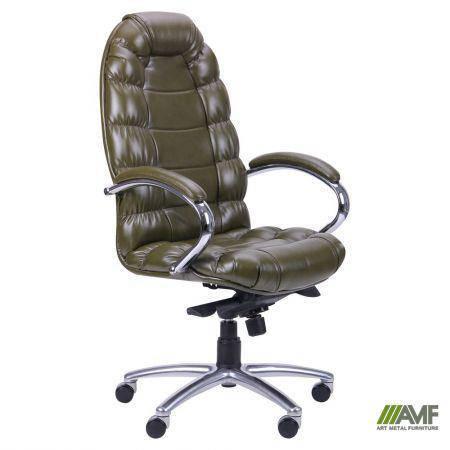 Кресло Марракеш Хром Механизм МВ Мадрас олива, фото 2