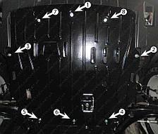 Защита двигателя Mitsubishi Outlander (с 2012--) Полигон-Авто