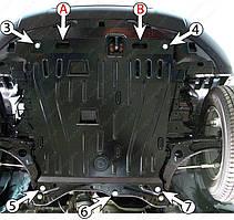 Защита двигателя Mitsubishi ASX (с 2010--) Полигон-Авто