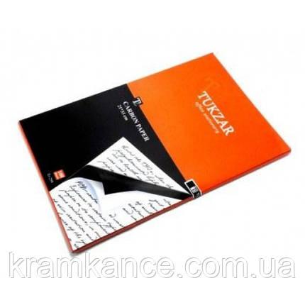 Копировальная бумагаTUKZAR А4, 100 листов, чёрная Tz-259, фото 2