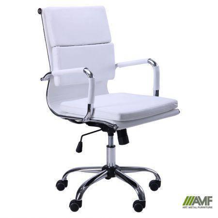 Кресло Slim FX LB (XH-630B) белый, фото 2