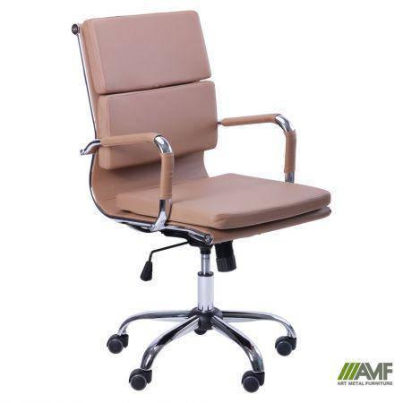 Кресло Slim FX LB (XH-630B) беж, фото 2