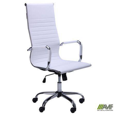 Кресло Slim HB (XH-632) белый, фото 2