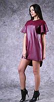Женское платье из кож-зама   Poliit 8327, фото 1