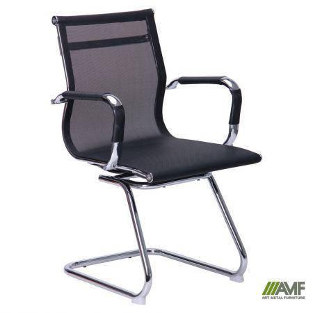 Кресло Slim Net CF (XH-633C) черный, фото 2