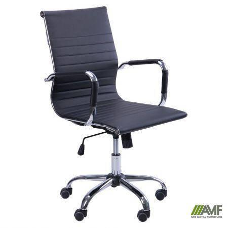 Кресло Slim LB (XH-632B) черный, фото 2