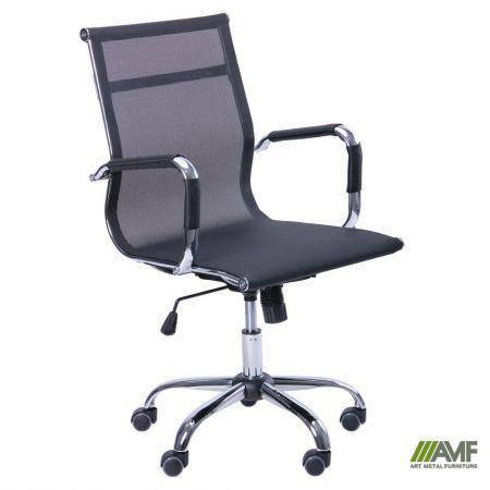 Кресло Slim Net LB (XH-633B) черный, фото 2