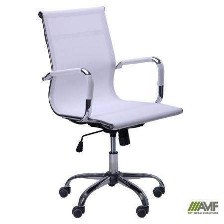 Кресло Slim Net LB (XH-633B) белый, фото 2