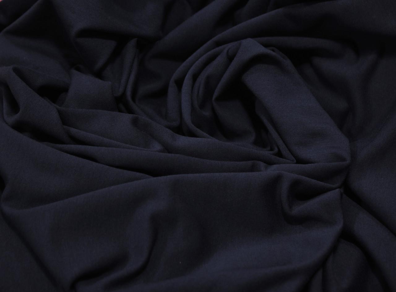 Футер двунитка темно- синяя (180 см)