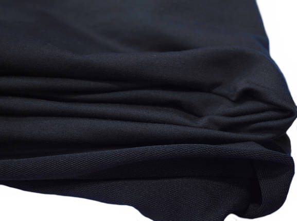 Футер двунитка темно- синяя (180 см), фото 2
