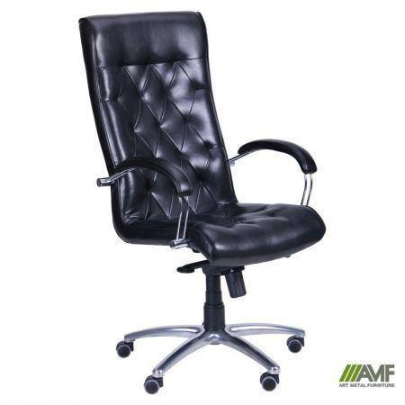 Кресло Бристоль HB Хром Механизм MB Лаки черный, фото 2