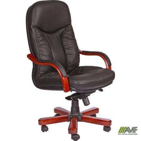Кресло Буффало НВ, кожа черная (6231-B BLACK LEATHER+PVC), фото 2