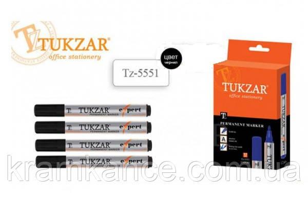 Маркер перманентный TUKZAR черный TZ-5551, фото 2