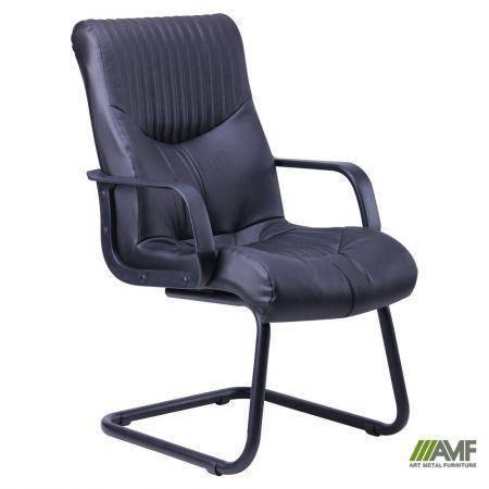 Кресло Геркулес CF Кожа Сплит черная, фото 2