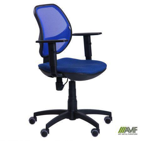 Кресло Квант/Action сиденье Квадро-20/спинка Сетка синяя, фото 2