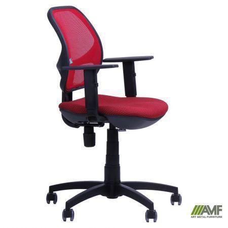 Кресло Квант/Action сиденье Квадро-28/спинка Сетка красная